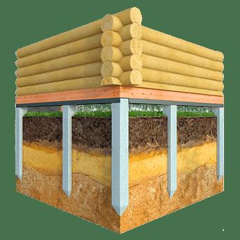 Levná základová deska pro dřevostavby.