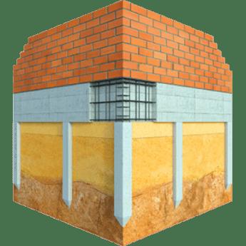 Levná základová deska pro zděné stavby